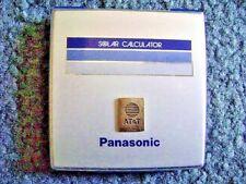 AT&T Panasonic Solar Calculator JE-362NU