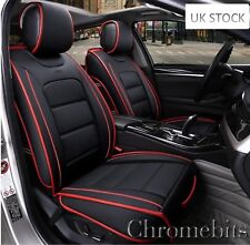 Luxury Comfortable Black PU Leather Front Seat Covers Compatible Mini Cooper