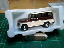 JEEP WILLYS RURAL 1968  IXO PERU 1/43