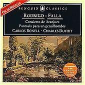 Rodrigo: Concierto de Aranjuez; De Falla: El sombrero de tres picos (1999)
