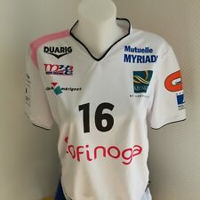 superbe maillot de handball porté  femme MHB  taille L/XL