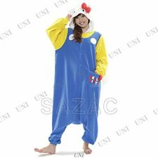 Sazac Kigurumi Pigiama 21.3mS Vintage Hello Kitty Costume Halloween Nuovo