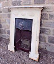 Cast Iron Fireplace Original Mantle Piece Art Deco  - Yorkshire Dales Reclaim