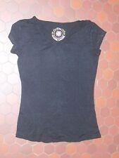 T-shirt basic noir femme CACHE CACHE taille 40