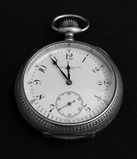 Awesome Patek Philippe - Early 20th Century Sterling Silver Pocket Watch (1905)