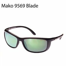 Mako Blade 9569 MO1 Matte Black Glass ROSE GREEN Mirror M01-G2H5