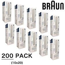 200 X braun Pièce de Rechange Filtre Objectif Sonde Housses pour Thermoscan