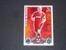 McKENNA 1.FC KÖLN TOPPS MATCH ATTAX PANINI FOOTBALL BUNDESLIGA 2010-2011