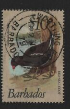 Barbados SG 638 $10 Red Seal Coot  1979 Very Fine Used Very Nice CDS