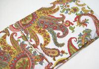Pottery Barn Multi Colors Felicity Paisley Euro Pillow Cover Sham New