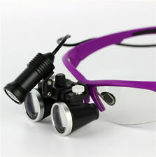 Dental Surgical Medical Binocular Loupes 3.5X 420mm Optical Glass Lens Magnifier
