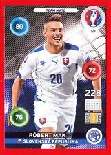 EURO FRANCE 2016 -Adrenalyn Panini- Card n. 357 - MAK SLOVENSKA - Team Mate