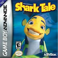 Shark Tale - Nintendo Game Boy Advance GBA