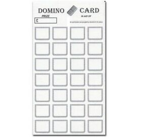1-28 Domino Cards on Thick Quality Card & Easy Pop Open,  CHOOSE YOUR PACK