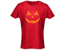 Halloween Originals Scary Face Womens Halloween T-Shirt (12 Colours)