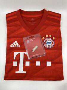 Lothar Matthäus signed FC Bayern Munich Germany Bundle with USB Size M Adidas