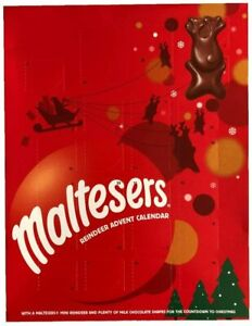 Malteaser Merryteaser Reindeer Chocolate Christmas Advent Calendar