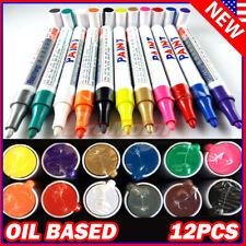 Tire Permanent Paint Marker Pen Car Tyre Rubber Universal Waterproof Oil Based P