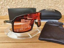 Oakley Sutro matte black / Prizm trail torch rare collector Limited