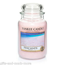 Yankee Candle Duftkerze Housewarmer großes Glas 623g Pink Sands