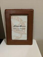 Eddie Bauer 4x6 Leather Picture Frame