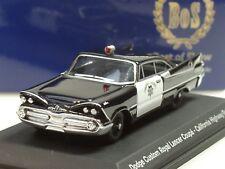 BOS Dodge Custom Royal Lancer California Highway Patrol '59 - 87058 - 1:87