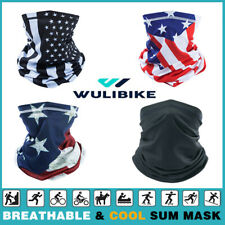 Cooling Face Scarf Mask Neck Gaiter Biker Tube Bandana Beanie Cover Cap Headwrap