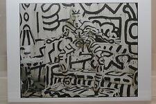 "ANNIE LEIBOVITZ : ""Keith Haring""  Kunst-Postkarte"
