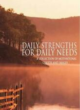 Inspirational Books: Daily Strengths for Daily Needs-