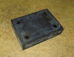 Gummidämpfungsplatte A 183 492 02 82 Mercedes Benz FIN 100 136 188 rubber plate