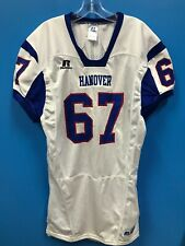 NEW Russell Athletic Adult Hanover Football Jersey Color White Blue Size L Large