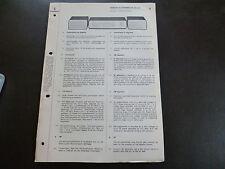 ORIGINALI service manual Siemens suono Maestro RS 270