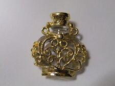 "Pretty Vintage ""Perfume Bottle"" Pendant. Not real bottle.|j|"
