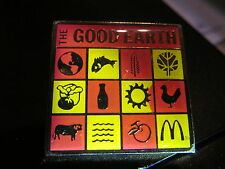 MCDONALDS  GOOD EARTH  VINTAGE  LAPEL PIN