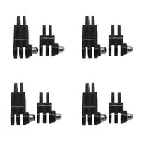8pcs Long & Short Straight Joint Adapter Mount Kits for GoPro Camera Case