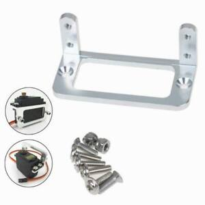 Silver Finish Standard Servo Mounting Bracket//Protector