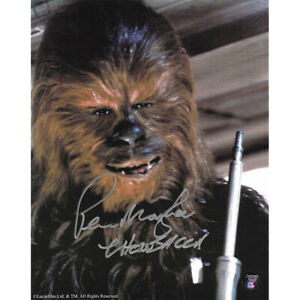 Peter Mayhew Autographed Star Wars 8X10 Photo