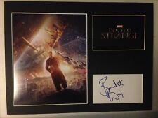 [A0307] Benedict Wong Signed Dr Strange 12x16 Display AFTAL