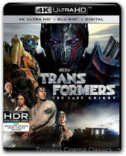 Transformers The Last Knight 4K Ultra HD Blu ray Digital New with Slipcase