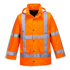 Portwest R460 High Visibility RWS Traffic Jacket Outdoor Workwear - Orange