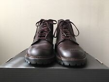 Rare Alden Indy Boots 404 Kudu Leather Commando Sole Size 9