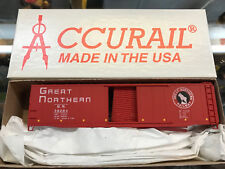 Accurail HO Scale KIT 5034 50 foot riveted AAR boxcar - Great Northern GN