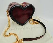 Stella McCartney  Heart shaped Tote /Shoulder Bag Burgandy/Black, rrp780GP