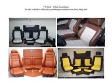 VW Golf 1 Cabrio Montageanleitung Innenausstattung Sitze + Verkleidungen