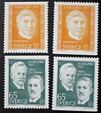 Timbre SUÈDE / Stamp SWEDEN Yvert et Tellier n°713b et 714b (cyn9)