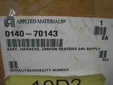 New AMAT 0140-70143 assy. harness, omron sensors 24v supply