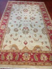 oriental afghan persian carpet rug 100% handknotted wool authentic collectable