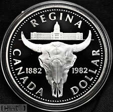 1982 Canada $1 Proof Silver Dollar