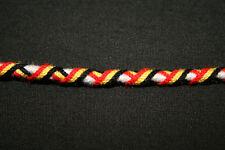 Bracelet Brésilien-DRAPEAU DE LA BELGIQUE/16cm/Unitaire