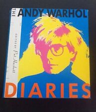 FIRST EDITION  The Andy Warhol Diaries by Andy Warhol  1989 Hardback